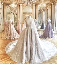 You look lovely today Gorgeous Wedding Dress, Beautiful Gowns, Paolo Sebastian, Prom, Couture, Luxury, Wedding Dresses, Outfits, Inspiration