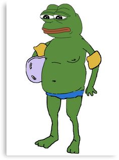 Pepe The Frog Supreme Swag