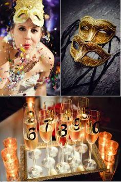 New Year's Eve Wedding Ideas   Intimate Weddings - Small Wedding Blog - DIY Wedding Ideas for Small and Intimate Weddings - Real Small Weddings