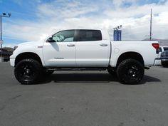 Toyota Tundra White