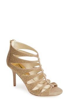 MICHAEL Michael Kors | 'Mavis' Leather Sandal (Women) | Nordstrom Rack