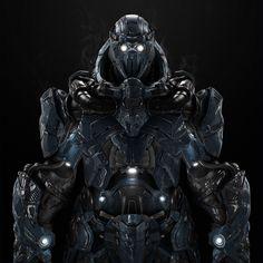 cyborg, future, robot, cyberpunk
