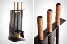 15 Modern Fireplace Accessories That Won't Ruin Your Decor via Brit + Co.