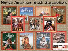 Native American books perfect for 2nd and 3rd grade.  Learning Lessons with Mrs. Labrasciano