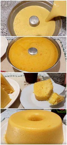 Licuadora al horno Pamonha / / My Recipes, Sweet Recipes, Cooking Recipes, Cooking Joy, Brazillian Food, A Food, Food And Drink, Health Snacks, Food Humor