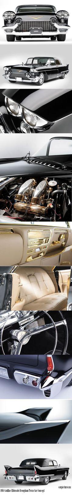 1956 Cadillac Eldorado Brougham Town Car #celebritys sport cars #sport cars  http://sport-car-collections.lemoncoin.org