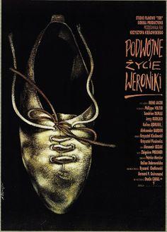 LA DOUBLE VIE DE VERONIQUE/PODWOJNE ZYCIE WERONIKI aka THE DOUBLE LIFE OF VERONIQUE (Dir. Krzysztof Kieslowski, 1991) Polish poster