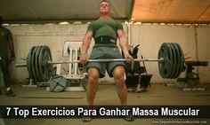 7 Top Exercícios Para Ganhar Massa Muscular → http://www.segredodefinicaomuscular.com/7-top-exercicios-para-ganhar-massa-muscular/  #Hipertrofia #Treino #Exercicios