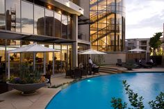 The City Lodge Lynnwood is in the new Lynnwood Bridge complex, travellers on the eastern side of Pretoria, which is about a drive from the OR Tambo Johannesburg International Airport, South Africa. Pretoria, South Africa, Mansions, House Styles, City, Outdoor Decor, Hotels, Mansion Houses, Manor Houses
