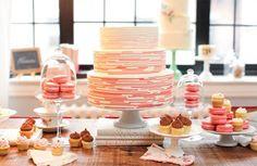 Hens Night Dessert - I really like the idea of cakes for the hens night and lollies for the wedding :)