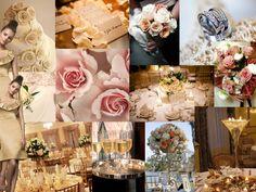 sweet details : PANTONE WEDDING Styleboard : The Dessy Group