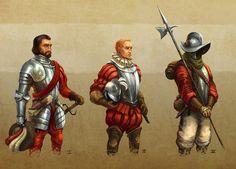 Spanish 1500s-1600s armor