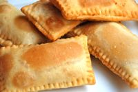 Savory ChickenFried Pastry (Pastel Frito): Pastel Frito de Frango - Recipe for Brazilian Pasteles with Chicken