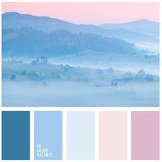 Нежный, пастельный, синий, голубой, розовый, кварц, delicate, pastel, tender, rose, quartz, blue, pink