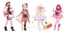 Magical Boys and Girls Adopts (CLOSED) by Hacuubii on DeviantArt