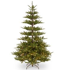 PowerConnect Glenwood Fir 7.5-foot Tree with Clear Lights (Green)