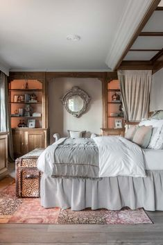 Belgian Style, Traditional Bedroom, Villa, House, Furniture, Interiors, Home Decor, Decoration Home, Home