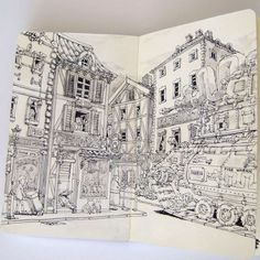 Sketchbook Series - Mattias Adolfsson