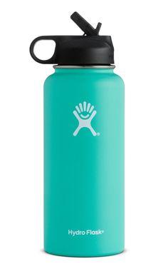 Hydro Flask 32oz Wide Mouth w/ Straw Lid