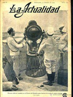LA ACTUALIDAD 17 AGOSTO 1909 - SEMANA TRÁGICA EN BARCELONA - GUERRA COLONIAL DE MARRUECOS