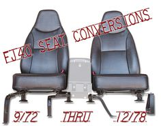 Exclusively at CCOT - FJ40 Seat Conversion System...