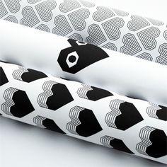 Printable heart wrap