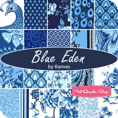 Don't like the whole collection, but like some of the individual fabrics, so for reference: Blue Eden