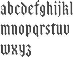 MyFonts: Blackletter typefaces