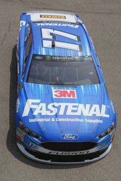 , driver of the Fastenal Ford, drives through the garage area during practice for the Monster Energy NASCAR Cup Series Firekeepers Casino 400 at Michigan International Speedway on June 2018 in Brooklyn, Michigan. Nascar News, Nascar Race Cars, Nascar Sprint Cup, Ricky Stenhouse Jr, Bristol Motor Speedway, Monster Energy Nascar, Nascar Diecast, Dale Earnhardt Jr, Chevy Camaro