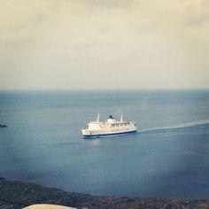 Welcome :) #boat #kythnos #easter - @harrykappos- #webstagram