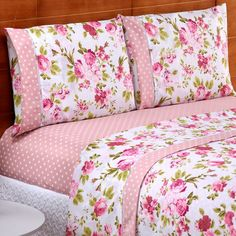 Purple Bedroom Decor, Pink Bedrooms, Shabby Chic Bedrooms, Bed Cover Design, Cushion Cover Designs, Bed Design, Pink Bedding, Bedding Sets, Draps Design