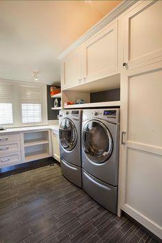 laundry room | John Johnstone Kitchen & Bath Designers