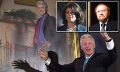 Artist says he put reference to Lewinsky's dress in Clinton painting