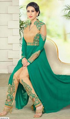 a971dd4ffd 162 best green suit images in 2016 | Indian clothes, Indian attire ...