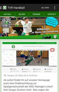 Dies ist die offizielle TVR Handball App. Alle Neuigkeiten, Bilder,Veranstaltungen und Termine  habt ihr nun in der Hosentasche.Wann immer es etwas Neues gibt, klingelt´s auf dem Smartphone.  http://Mobogenie.com
