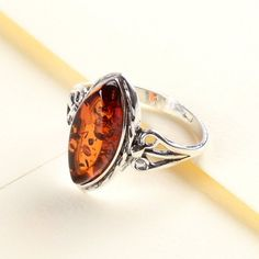 Delectable Amber Ring - Amber & Russian Jewelry