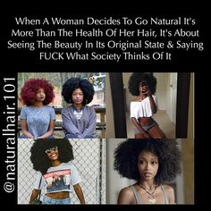 Natural hair quotes Natural Hair Quotes, Natural Hair Styles, Going Natural, Her Hair, Kinky, Have Fun, Curly, Hair Beauty, Color
