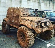 Suzuki samurai mud