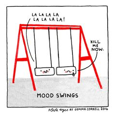 Mood swings - introverts