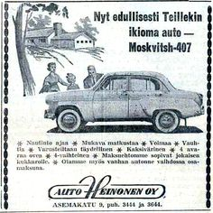 •♥• Mosse-mainos ((Salon Seudun Sanomat 15.6.1960) •5♥73• #Mosse_салон_Sanomat 15.6.1960) (SF) [ ©2017 correction by Supertick57] Retro Ads, Retro Vintage, Map Pictures, Old Commercials, Old Toys, Ancient History, Finland, Vintage World Maps, Nostalgia