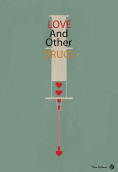 Love & Other Drugs (2010) ~ Minimal Movie Poster by Masse Hjeltman #amusementphile