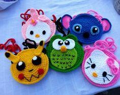 Crochet purse for kids