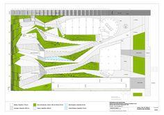 [spanish week] Public Space for Events Forum de Negocios Landscape Stairs, Landscape Architecture Design, City Landscape, Urban Landscape, Interior Presentation, Public Space Design, Public Spaces, Parking Design, Design Language