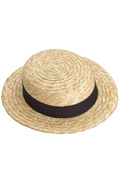 Check out the deal on Skimmer Hat - FREE SHIPPING at PureCostumes.com
