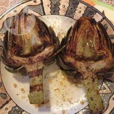 Carciofi alla griglia @ allrecipes.it