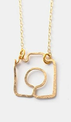 Gold Shoot Me Camera Necklace for my BFF @Jenn Bartell Photo&Design