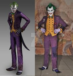 d10891a398dfda Joker Arkham Asylum Cosplay Comparation by AlexWorks Arkham City