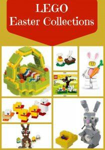 LEGO Easter Collections ~ the kits are way too expensive, but we could build many of them with the Legos we own. Lego Activities, Easter Activities, Easy Crafts, Diy And Crafts, Crafts For Kids, Lego Therapy, Play Therapy, Legos, Lego Kits