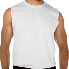 Keep Your Chin Up (Print on Back) Sleeveless Shirts