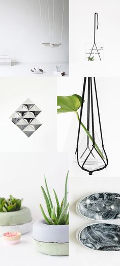 Six minimal DIY's for your home - via cocolapinedesign.com